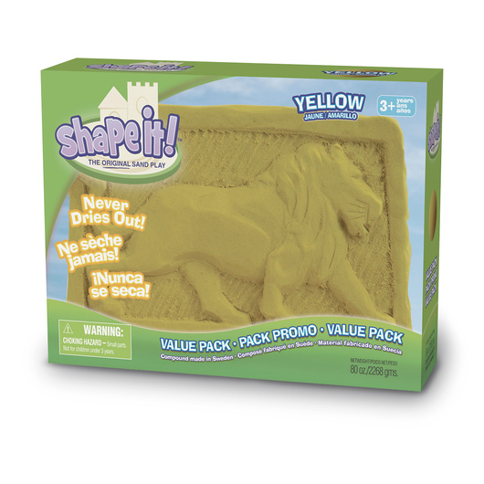 Relevant Play Shape it!™ Sand Yellow - 5 lb. Box