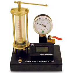 Gas Law Apparatus with Temperature Gauge