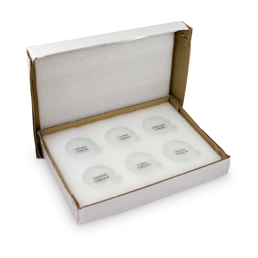 Lens Demonstration Set - 38 mm Diameter