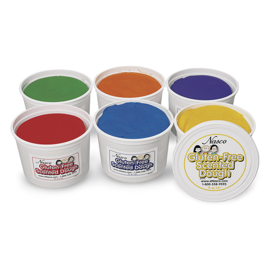 Nasco Gluten-Free Scented Dough - Set of 6