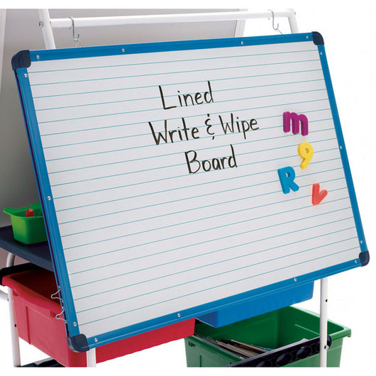 Magnetic Lined Dry-Erase Board