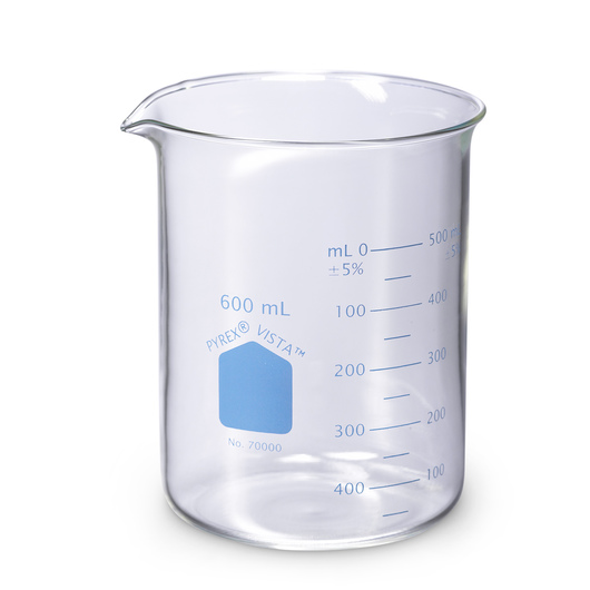 PYREX® VISTA™ Glass Beaker - 600 ml