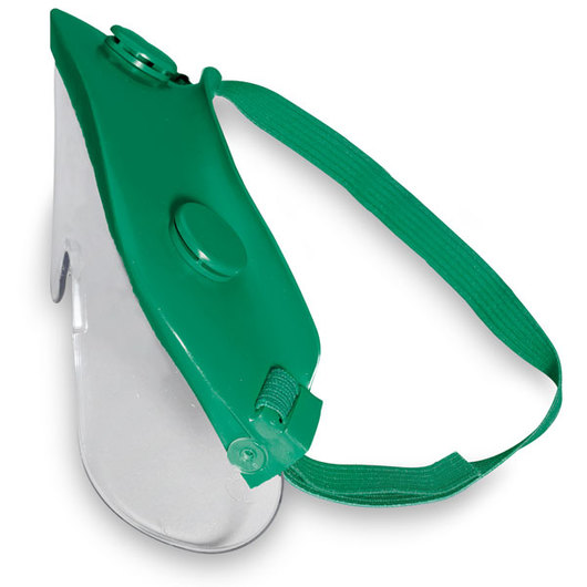 Visorgog Economy Safety Goggles - Green