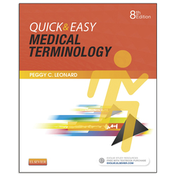 Quick & Easy Medical Terminology Book & CDROM