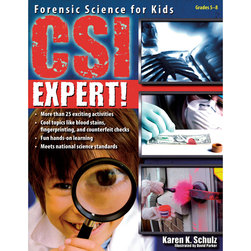 CSI Expert! Forensic Science for Kids Book