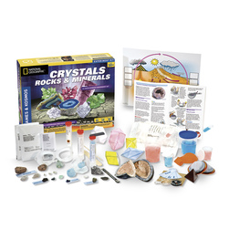 National Geographic - Crystals, Rocks, and Minerals Kit