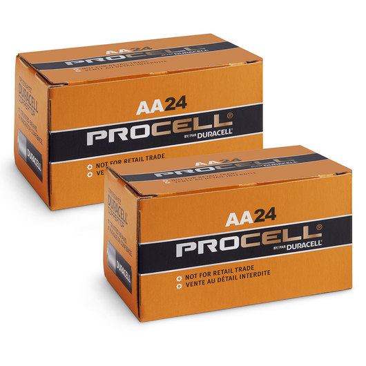 "Duracell ""AA"" Alkaline Batteries - Pack of 48"