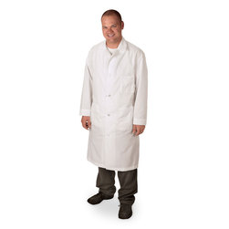 Knee-Length Lab Coat - Small (Size 36)