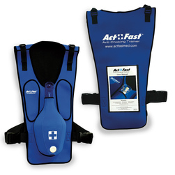 Act+Fast Anti-Choking Blue Trainer