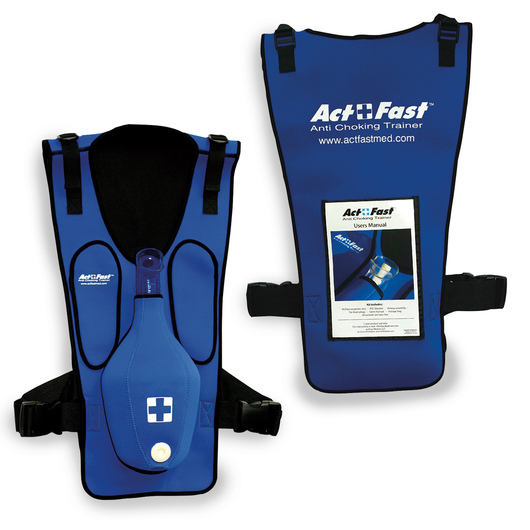 Act+Fast™ Anti-Choking Blue Trainer - Single Trainer
