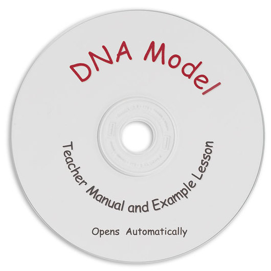 DNA Model Instructional CD-ROM