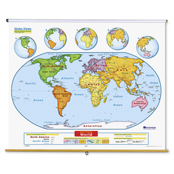 Early Learning U.S. and World Map Set