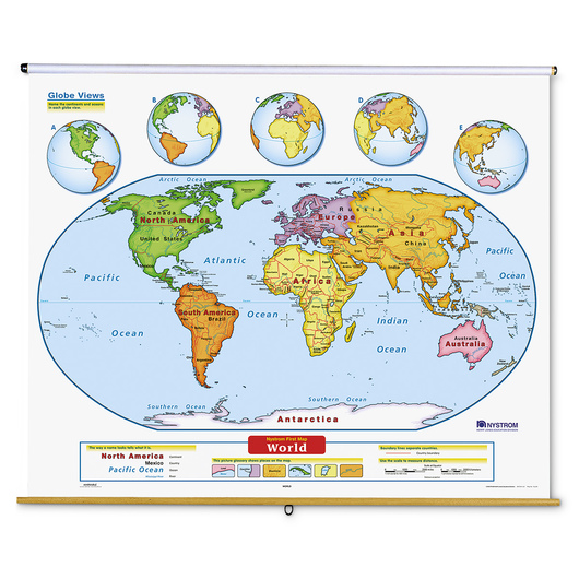 Early Learning Us And World Map Set Maps Social Studies - Early-us-maps