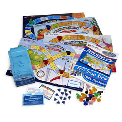 NewPath Learning® Middle School and High School Earth Science Curriculum Mastery® Game