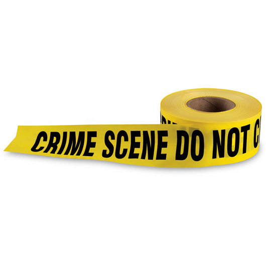 Crime Scene Barricade Tape