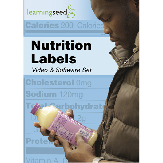 Nutrition Labels DVD and Software Set