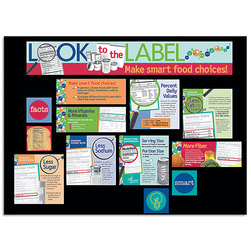 Nutrition Labels Bulletin Board Kit