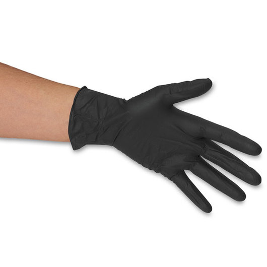 Adenna® Night Angel® Black Nitrile Powder-Free Exam Gloves - X-Large