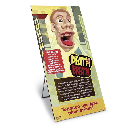 Death Breath™ Display - 10 x 20-1/2x 1/2