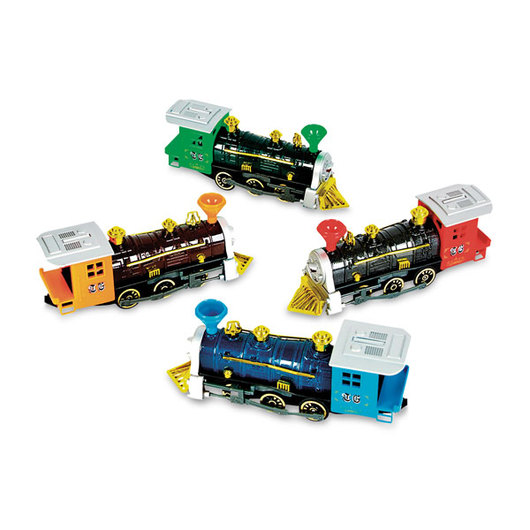 7 in. Locomotive Pull Back Vehicle