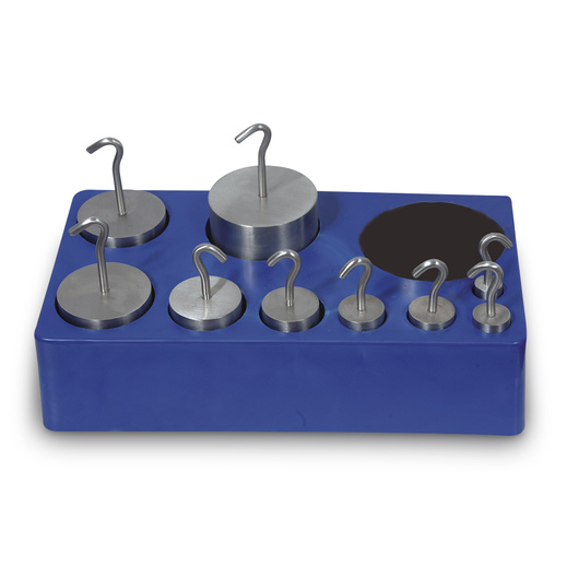 Stainless Steel Hooked Weight Set - Set of 9