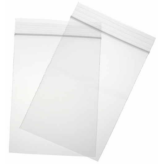 Bag, Zipper Closure - 4 x 6 - Pkg. 100