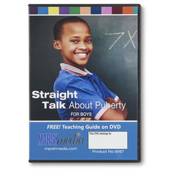 Straight Talk About Puberty DVD