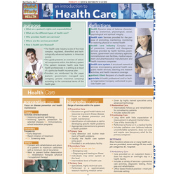 QuickStudy Introduction to Health Care Guide