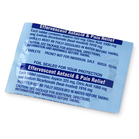 Antacid - Effervescent Tablets - Pack of 24 (Not for Human Consumption - lab use only)