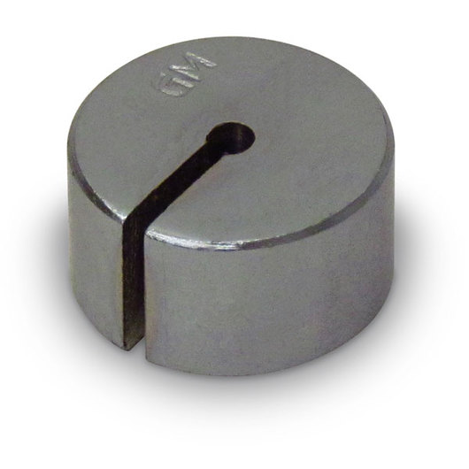 Slotted Steel Weights - 50 g