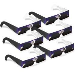 Eclipse Shades® Solar Eclipse Glasses - Set of 6