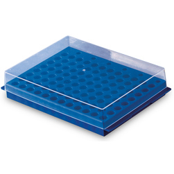 Reversible Rack for Microcentrifuge Tubes - Holds 96 Tubes