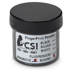 Bichromatic Magnetic Powder