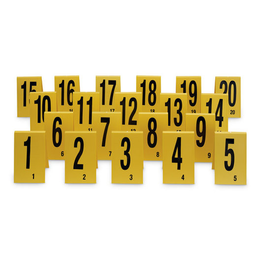 Number Stands 1 20 Forensic Science Genetics Forensic Science Science Education Supplies Nasco