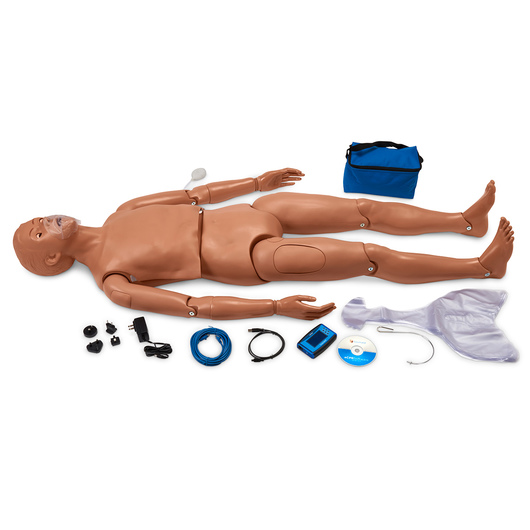 Gaumard® CPR Simon® Full-Body Simulator with OMNI® Code Blue® Pack - Medium