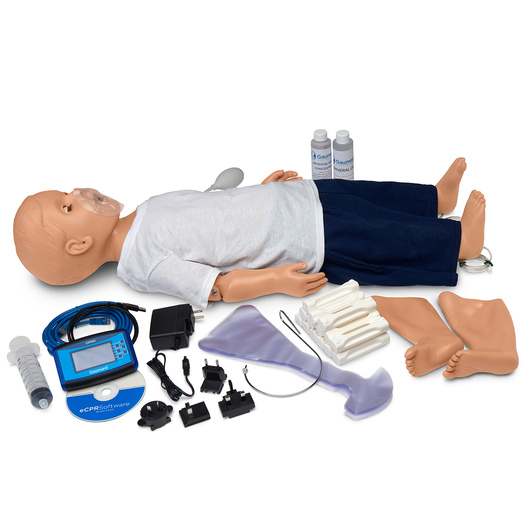 Gaumard® Advanced 1-Year-Old CPR and Trauma Care Simulator - Light