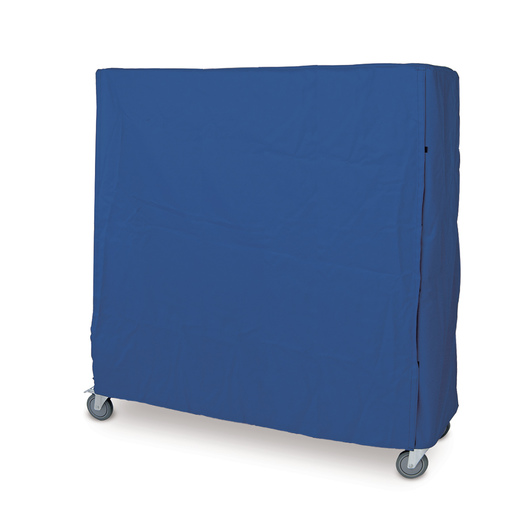 Blue Nylon with Hook-and-Loop Closure Cart Cover