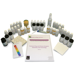 Forensic Drug and Poison Analysis: Chemistry and Toxicology Kit