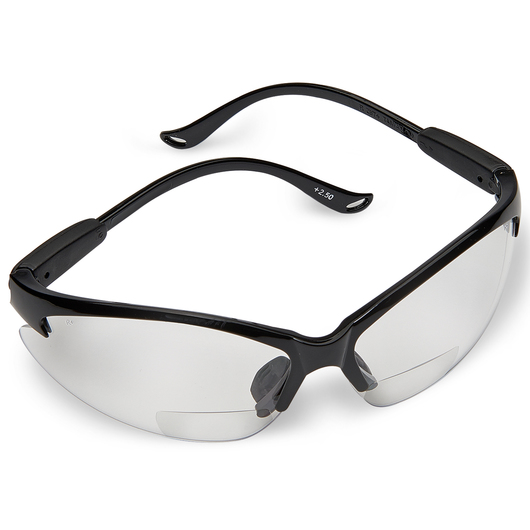 f6453e2963b N-Specs® Infusion® Readers - Clear Anti-Fog Magnifying Lens Safety Glasses  - 2.5 Diopter