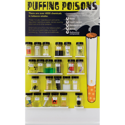 Puffing Poisons Display