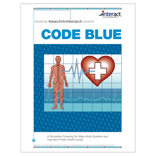 Code Blue - A Simulation Covering Six Major Body Systems and Important Public Health Issues