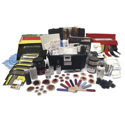 Active Shooter Moulage and Training Kit