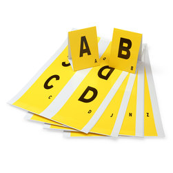 CSI Letter Stand Sets