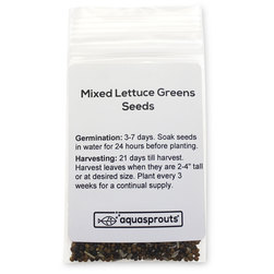 Mixed Lettuce Greens Seeds