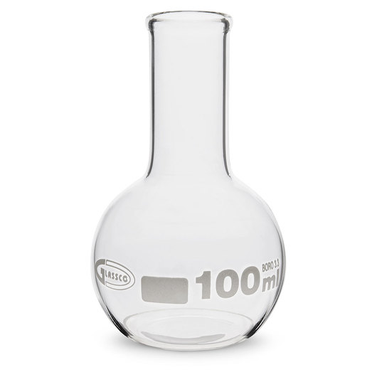 Boiling Flask, Flat Bottom - 100 ml