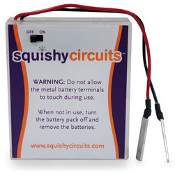 Squishy Circuits® Battery Holder