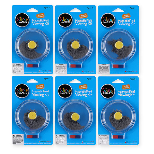 Magnetic Field Viewing Kit - Set of 6