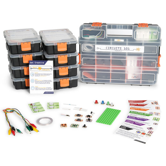 Crazy Circuits 101 Classroom Set - 8 Pack