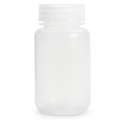 Wide Mouth HDPE Bottle - 4 oz. (118 ml) - Pack of 12