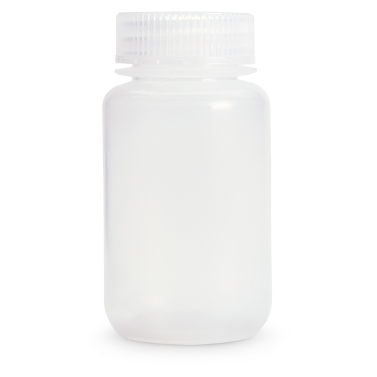 Wide Mouth HDPE Bottle - 4 oz. (118 ml)